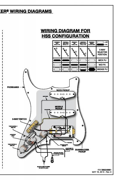 Help Needed wiring a Fender Shawbucker Into The Lead Position Simply. | My  Les Paul Forum | Wiring Schematic Fender Lead 1 |  | My Les Paul Forum