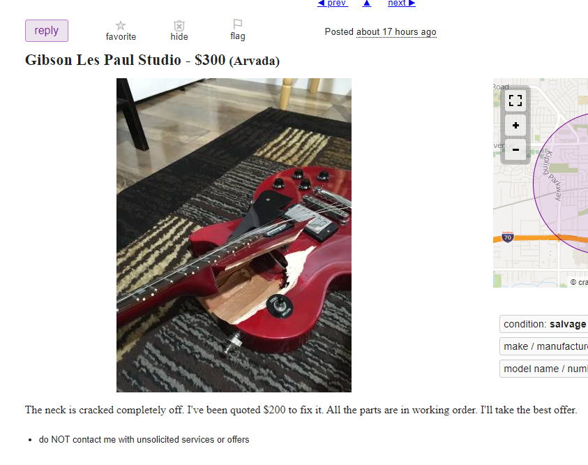 Gibson Les Paul Studio - musical instruments - by owner - sale.png