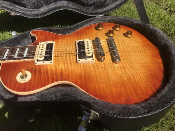 PRICE LOWERED! For sale: 2005 Gibson Les Paul Standard Faded