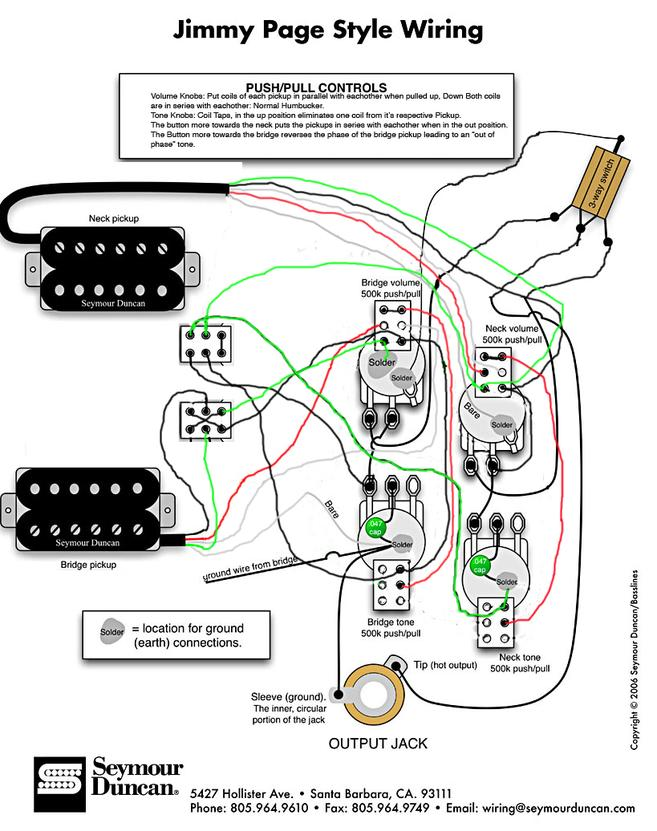 Jimmy Page #2 Wiring | My Les Paul ForumMy Les Paul