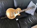 """Lady"" - my Les Paul Gold Top"
