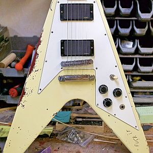 Hetfield Electra Flying V