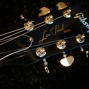 LP 50s Tribute Headstock