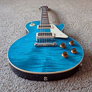 2016 Gibson Les Paul Custom Shop Custom Pro Aqua Blue