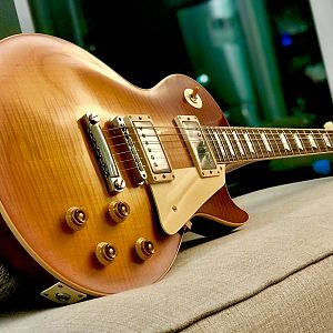 2018: 1958 Les Paul Royal Tea Burst