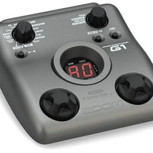 Zoom G1 multi-effect pedal