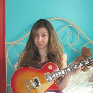 Me and my beloved 1977 Les Paul Standard:)