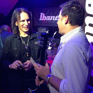 Steve Vai and me