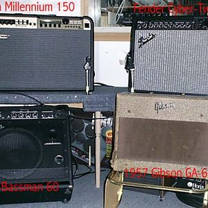 Most of the amps