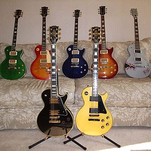 My Les Pauls and other single cuts