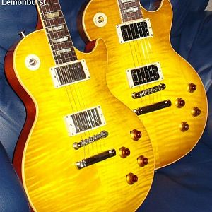 Comparing a 2007 R0 1960 Historic Reissue and a 2007 Classic Antique