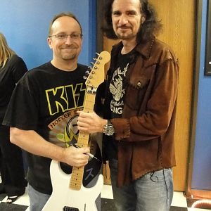 Bruce Kulick and someone else a little less famous