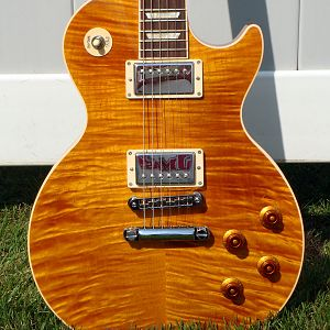 2012 Gibson Les Paul Standard Trans Amber