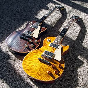 '12 Gibson Les Paul Standard Plus, '12 Gibson Les Paul Traditional Mahogany