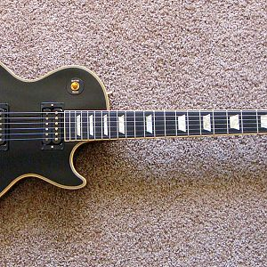 2007 Gibson Les Paul Classic Custom Ebony