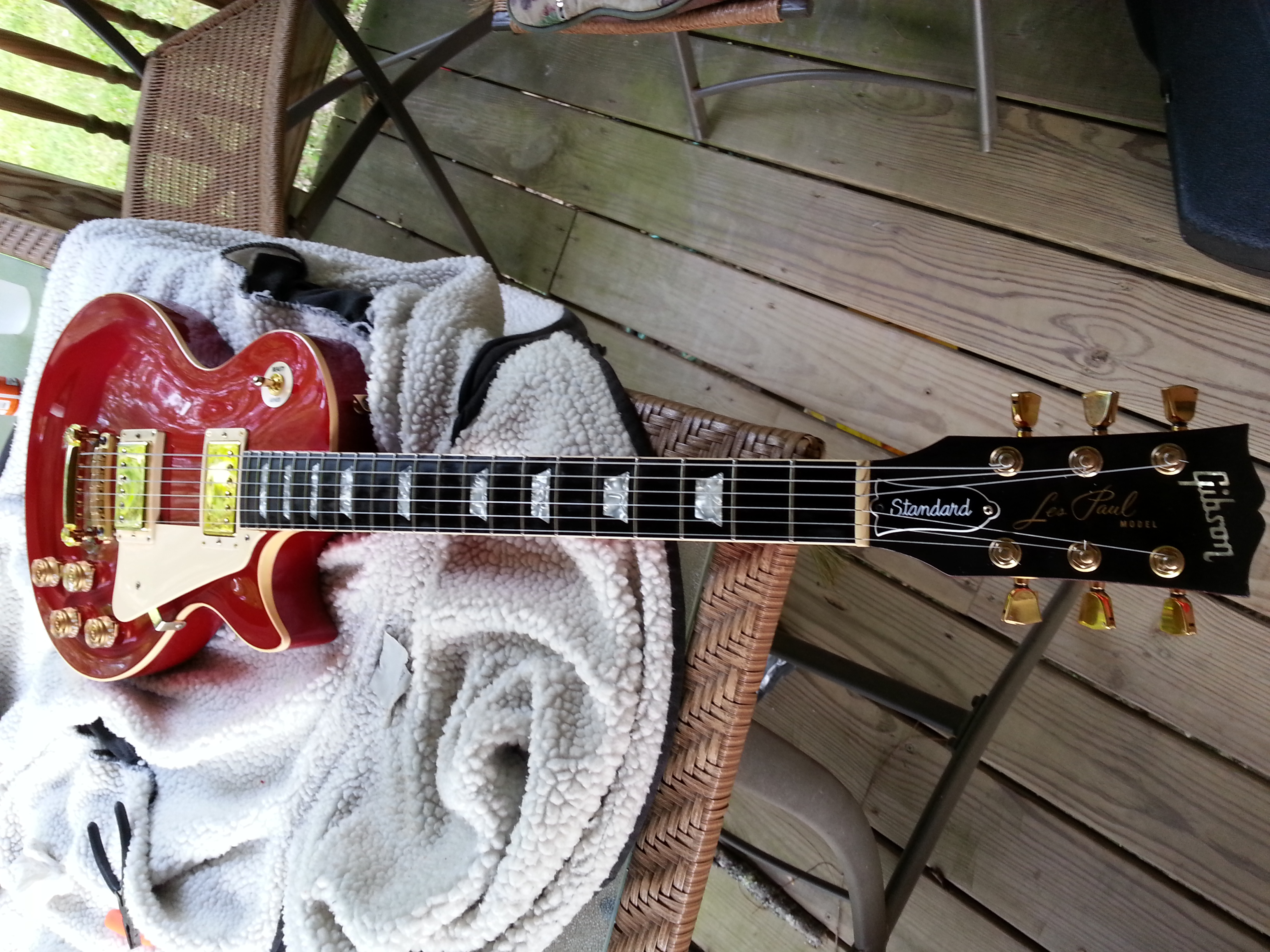 Anyone Have A Red Early 80s Lp My Les Paul Forum Guitar Wiring 101 Basic Electronics Mylespaulcom Album Stuff
